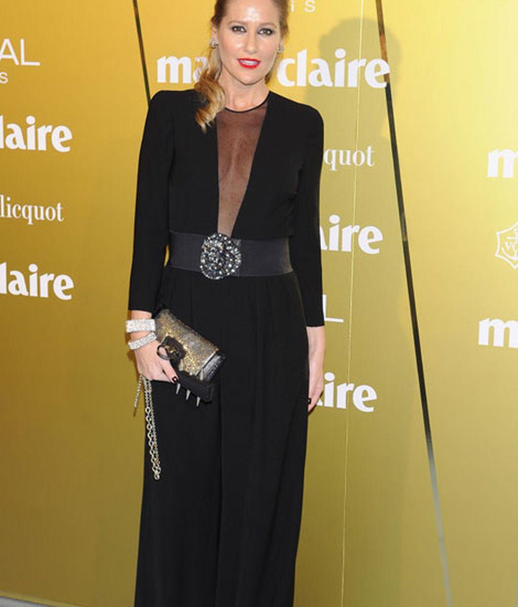 Fiona Ferrer eligió un elegante vestido de Thakoom