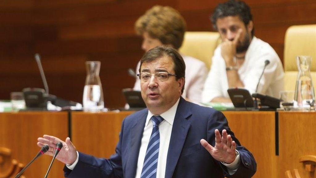 Guillermo Fernández Vara, investido presidente de la Junta de Extremadura