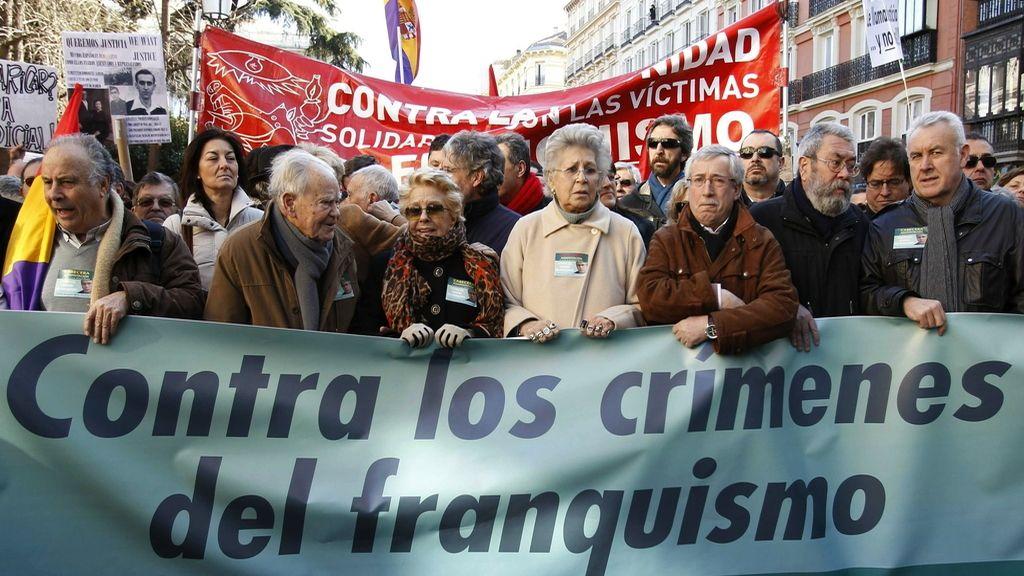 """Manifestación """"Solidarios con Garzón"""""""