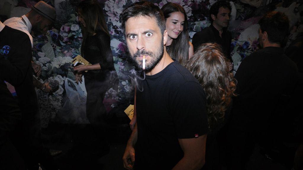 Hugo Silva no dudó en apoyar el estreno de su amigo Paco León