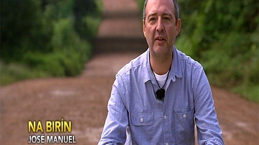 """José Manuel: """"Me asusta llegar allí y que alguno de ellos ya no esté"""""""