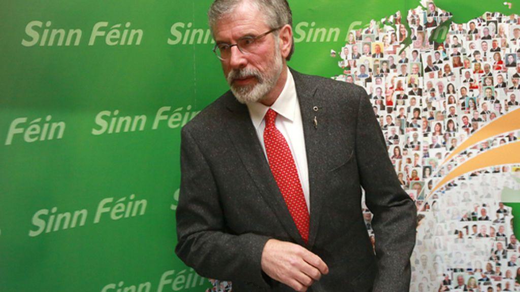 En libertad el presidente del Sinn Féin, Gerry Adams, tras cuatro días bajo custodia policial