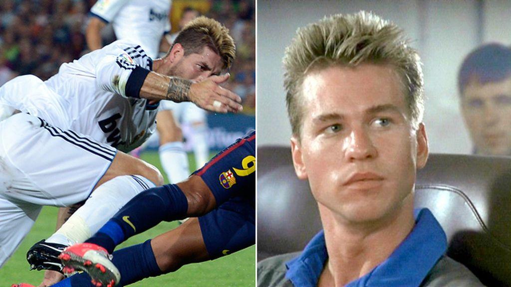 Sergio Ramos, o ¿Val Kilmer?