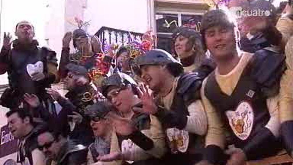 El fútbol, protagonista de las murgas de los Carnavales de Cádiz