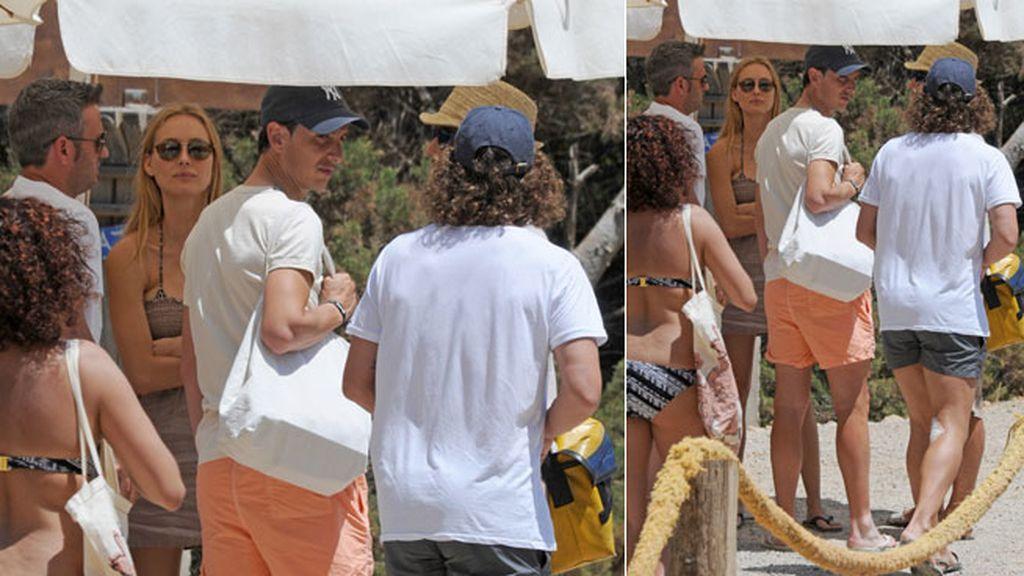 Vanessa y Puyol disfrutan de sus vacaciones