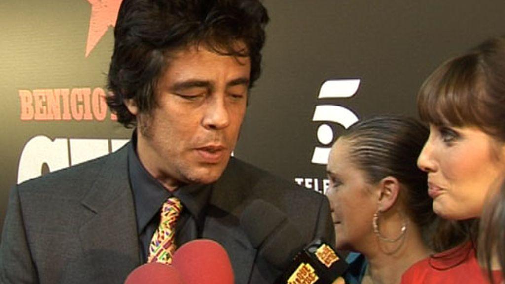 Benicio es mucho Benicio