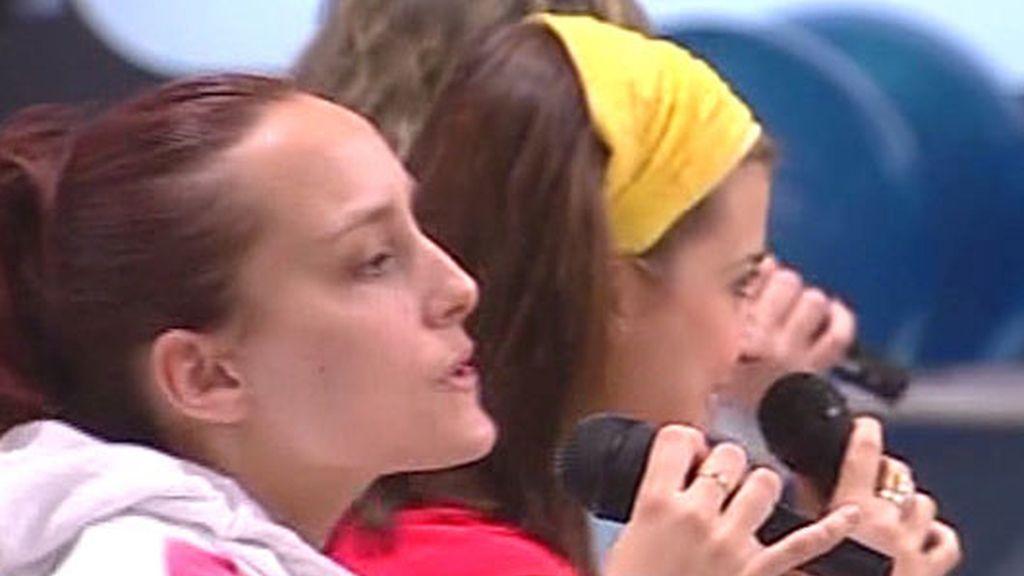Los 'triunfitos' ensayan las canciones de la Gala 2