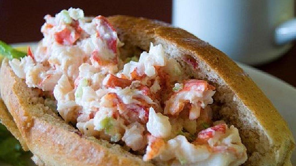 El sándwich de langosta