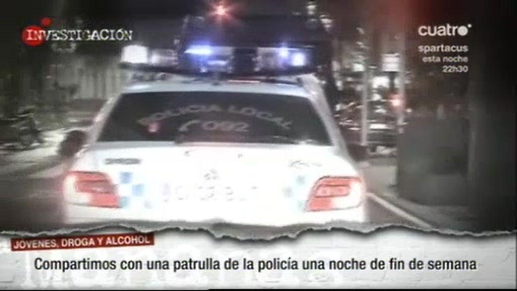 Patrullamos con la policía de Vigo