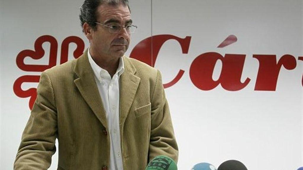 El presidente de Cáritas Española, Sebastián Mora