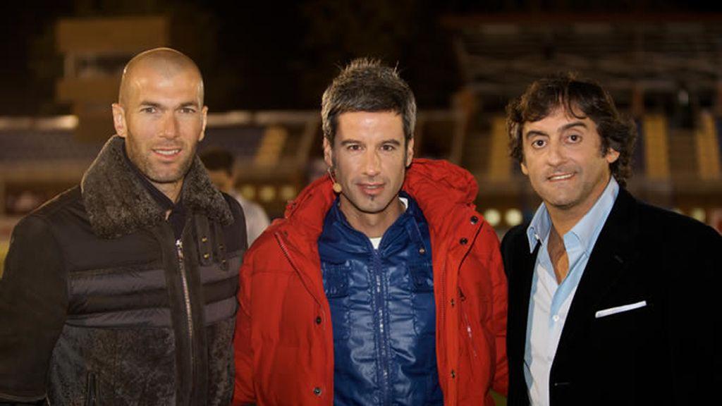 Zidane, Nico y Francescoli, a punto para el estreno de Cracks