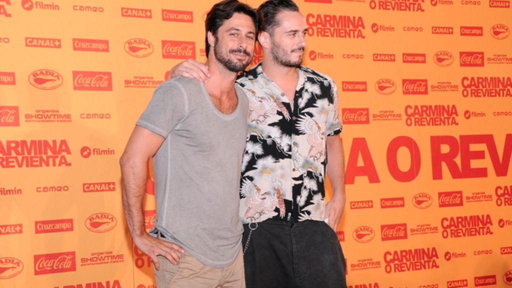 """Hugo Silva y Asier Etxeandía, que el lunes comienzan el rodaje de """"Los amantes pasajeros"""""""