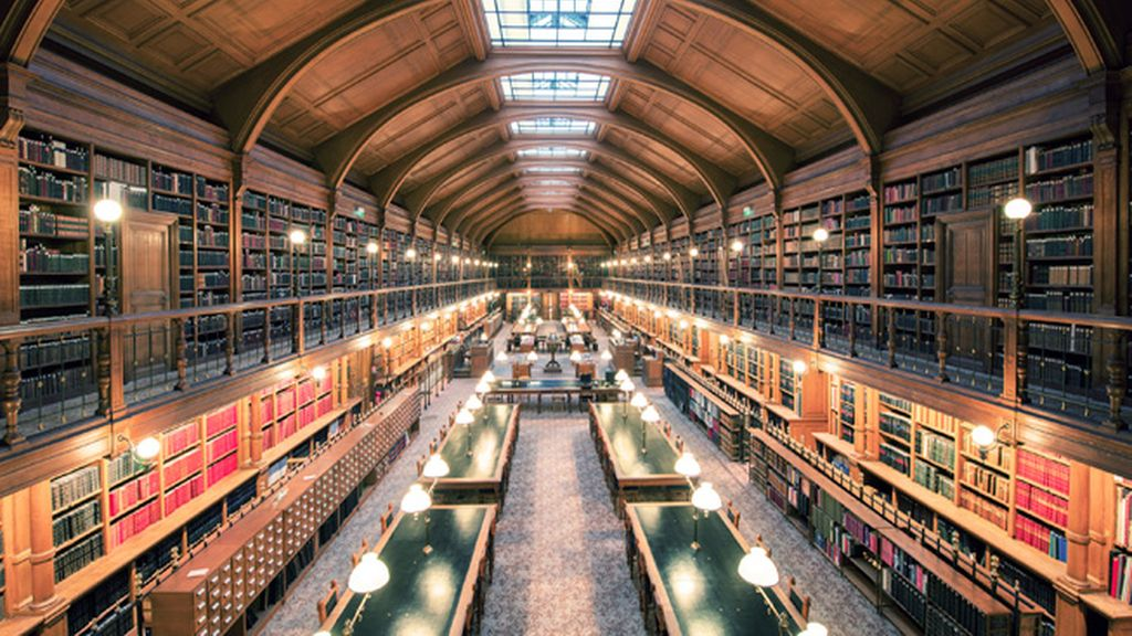 Biblioteca del Hotel de Ville, París
