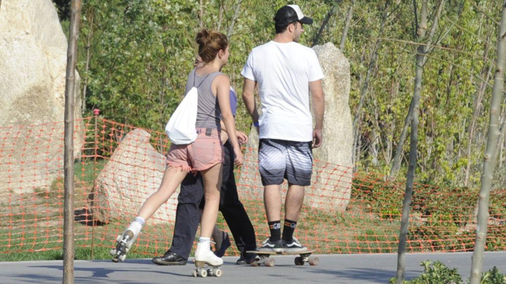 Silvestre y Suárez, 'skaters' enamorados
