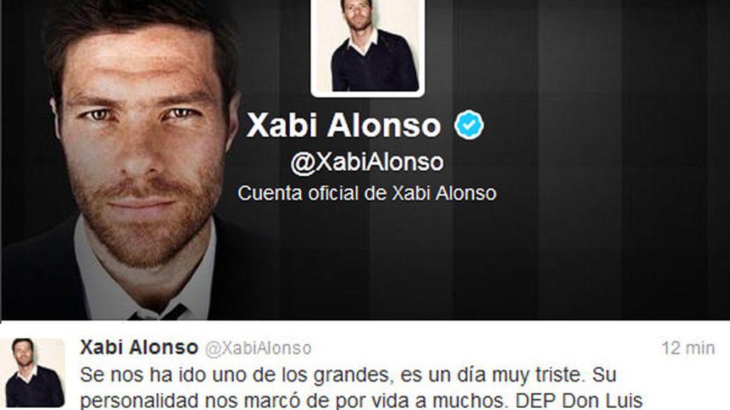 Tuit de Xabi Alonso