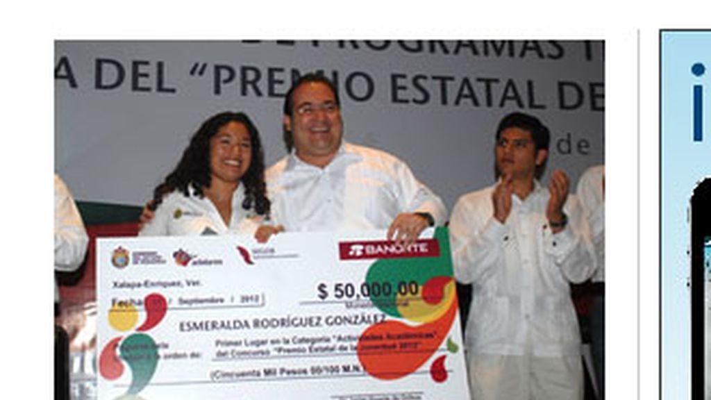 Esmeralda Rodríguez, estudiante mexicana que rechazó a la NASA. Foto: Xeu.com.mx