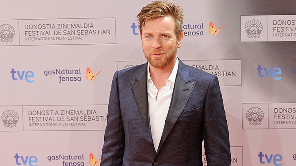 Ewan Mc Gregor recoge su Premio en el Festival de San Sebastián