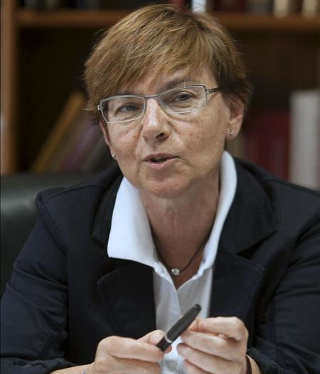 La consejera vasca de Empleo y Asuntos Sociales, Gemma Zabaleta. EFE/Archivo
