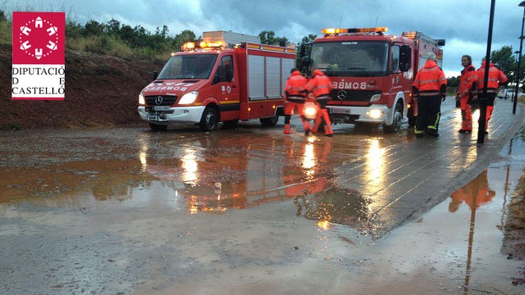 Rescate de los bomberos