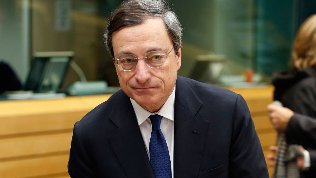 Marios Draghi, presidente del Banco Central Europeo