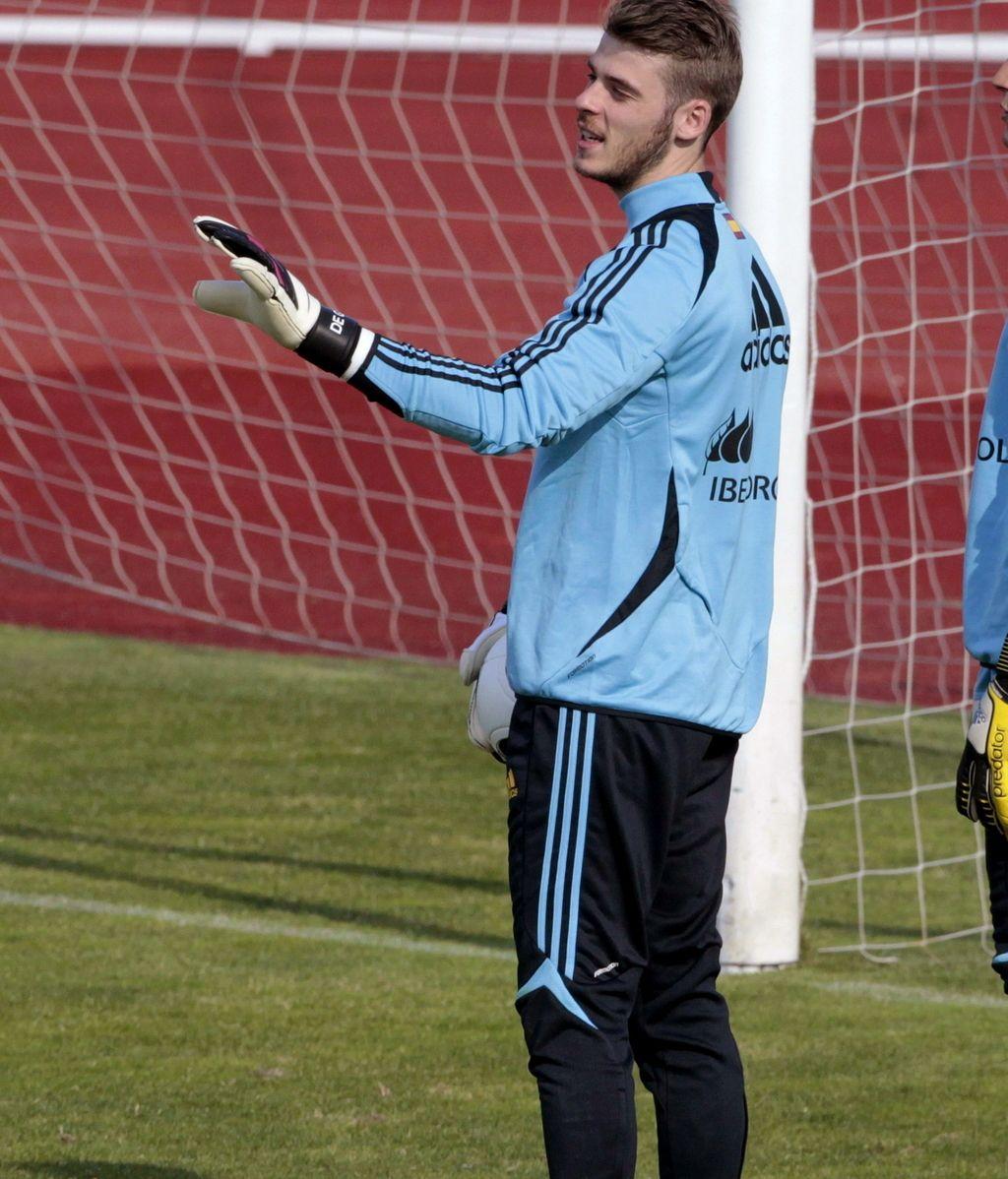 """David de Gea: """"Iker es el mejor portero del mundo y todo esto se acabará"""""""