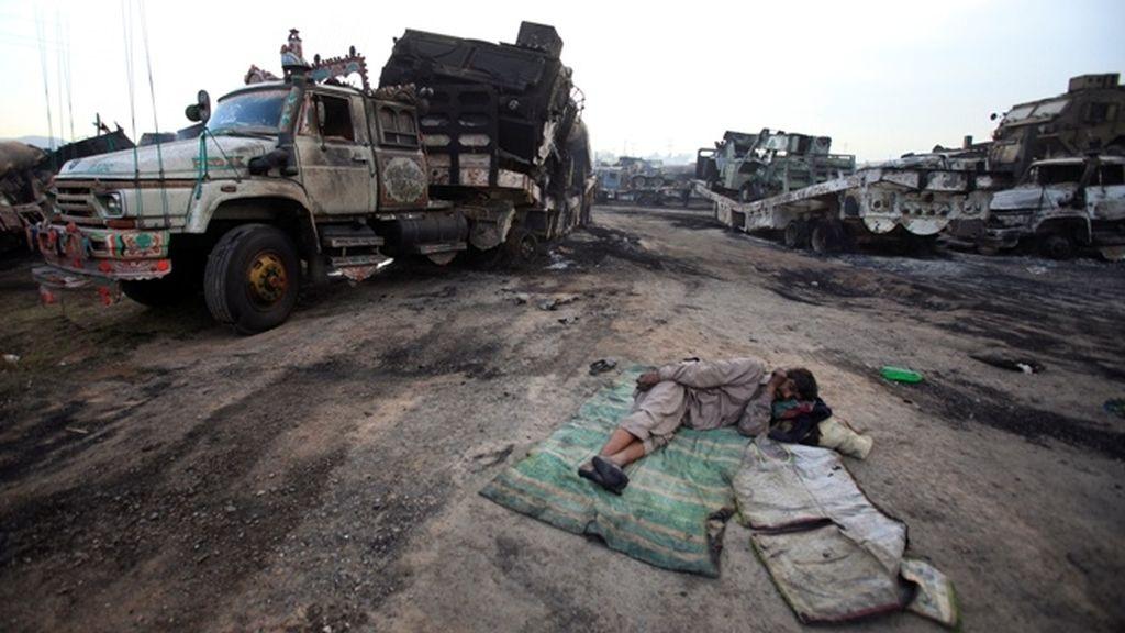 Consecuencias del ataque taliban a los convoyes de la OTAN