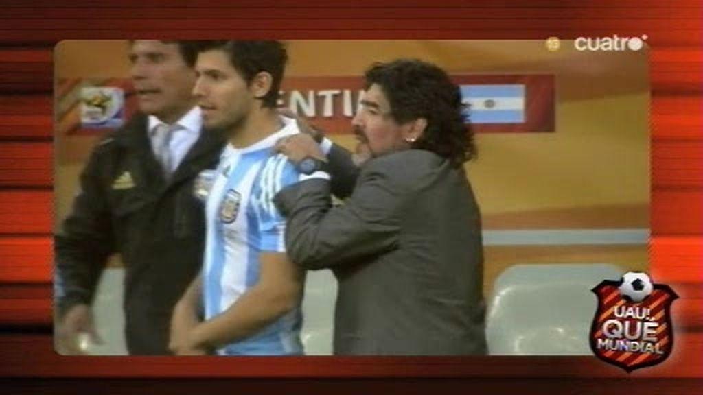 Los abrazos de despedida de Brasil y Argentina