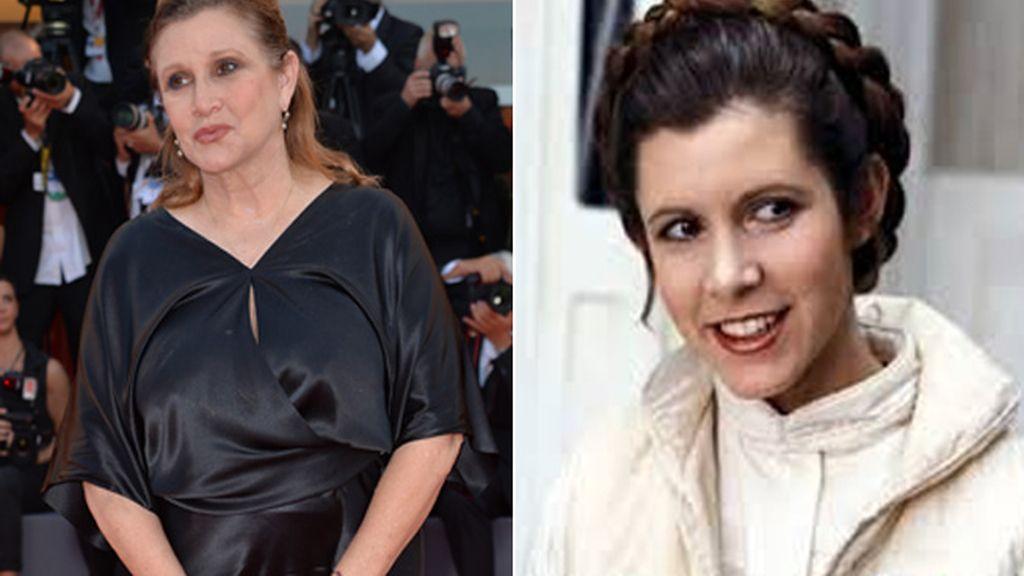 Carrie Fisher, a dieta para volver a encarnar a la princesa Leia