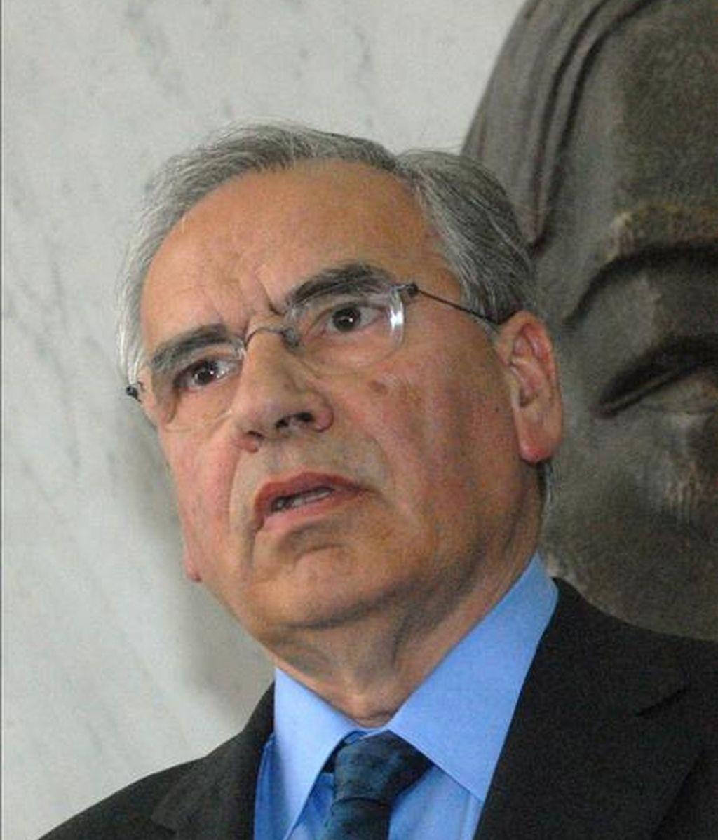 En la imagen, el ex vicepresidente del Gobierno Alfonso Guerra. EFE/Archivo