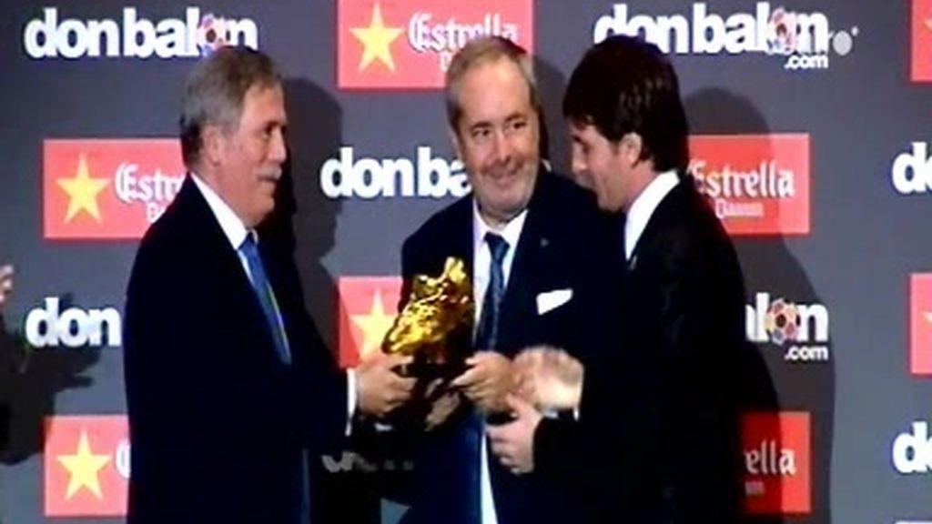 Messi, bota de oro