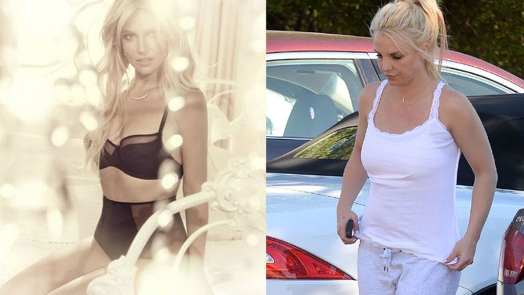 Britney Spears, irreconocible tras un exceso de Photoshop