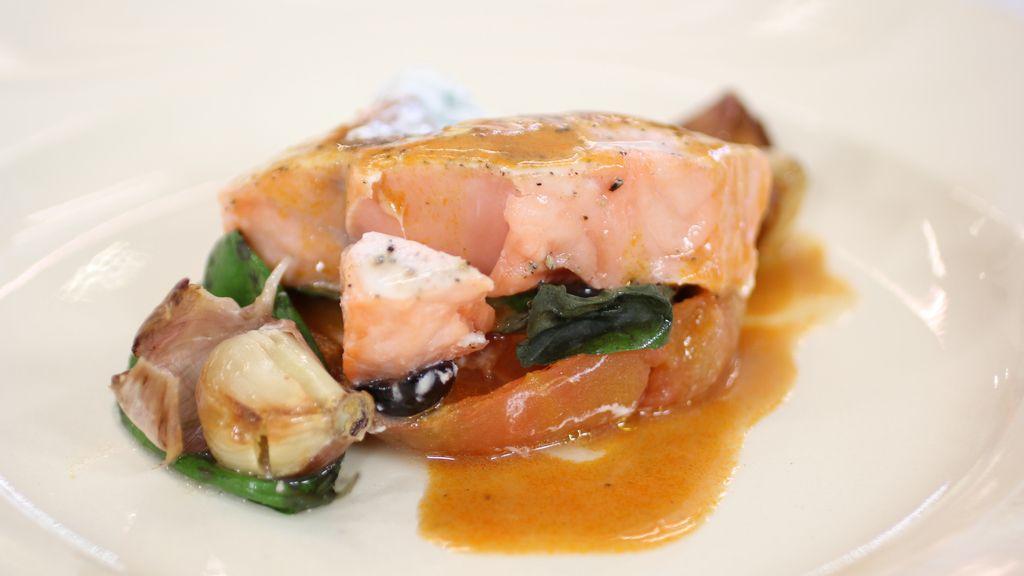 Salmón mediterráneo, en 'Robin Food'