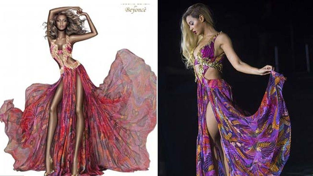 Beyoncé para Roberto Cavalli