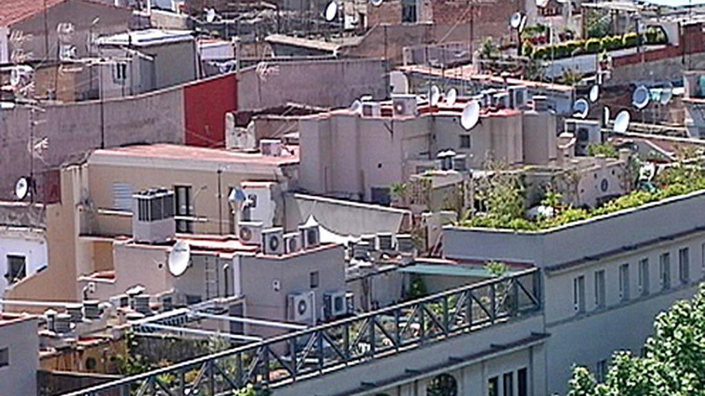 Áticos con terraza