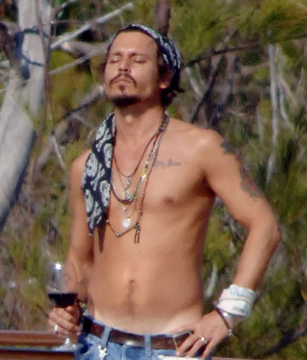 Johnny Depp, cual pirata