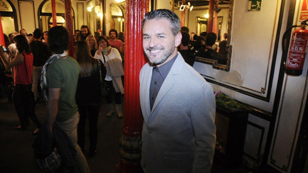 El actor Jorge Lucas