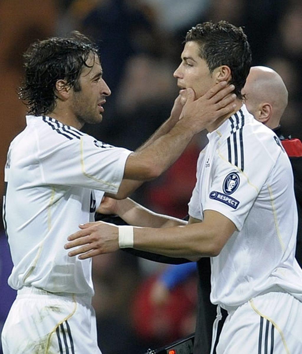 Raúl y Ronaldo