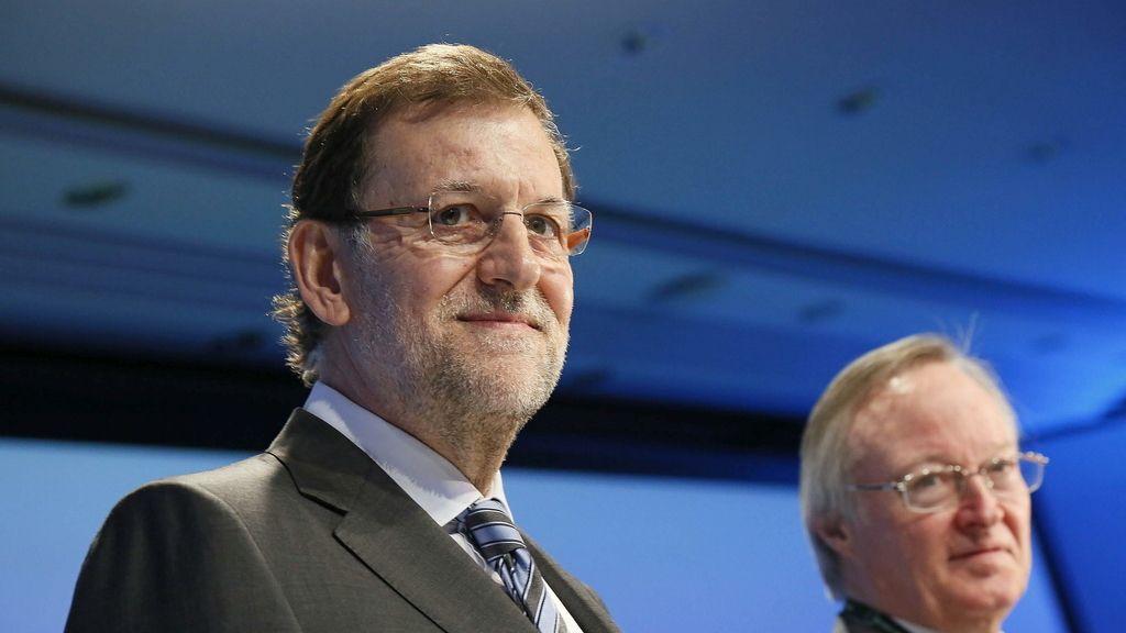 Rajoy y Piqué.