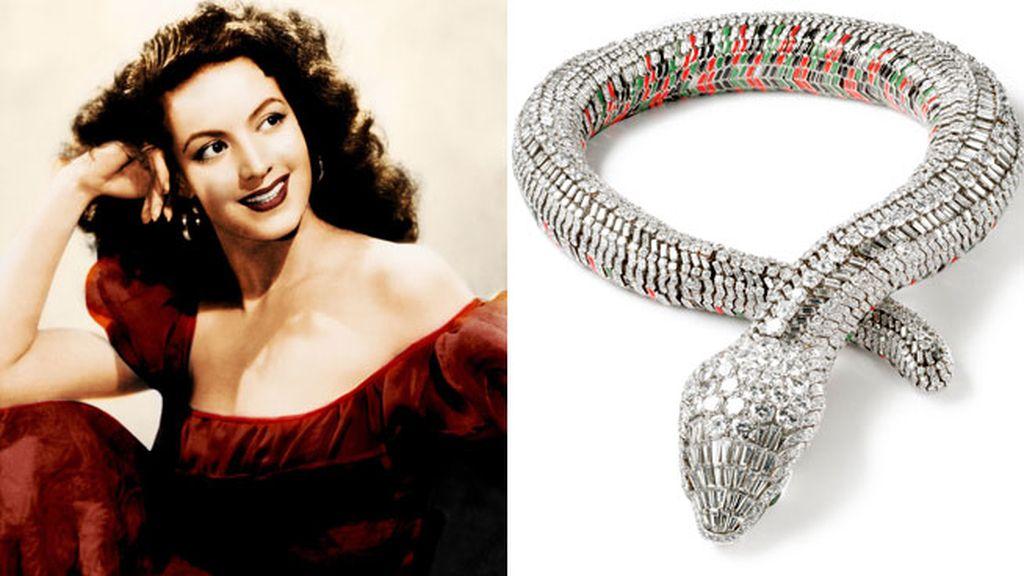 El collar Serpiente de María Felix