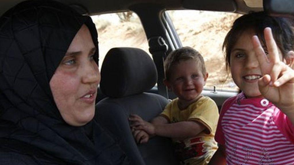 Grupos de civiles se han desplazado a la ciudad de Kalaa.