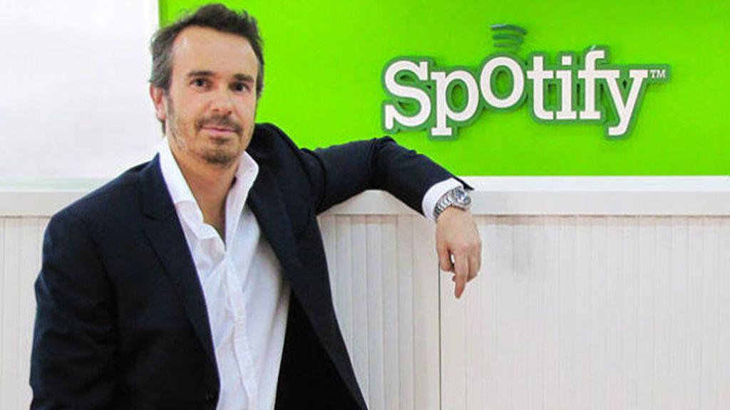 director de Spotify España, Javier Gayoso