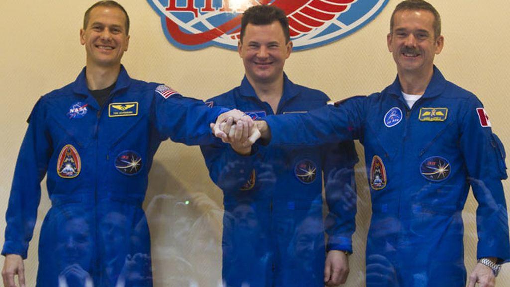 Los astronautas de la Estación Espacial Internacional