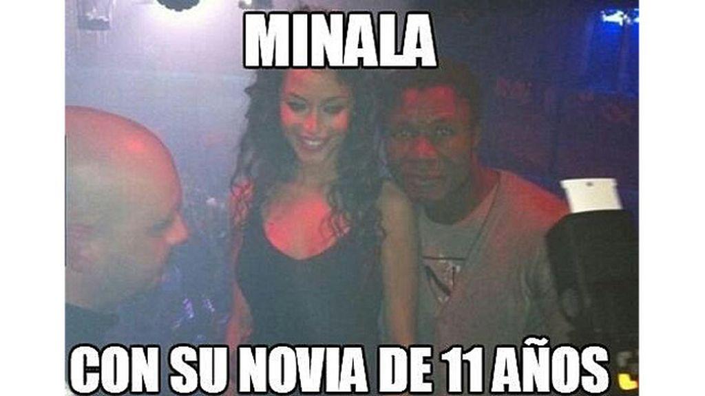 La mayoría de edad de Minala provoca una riada de memes en la red