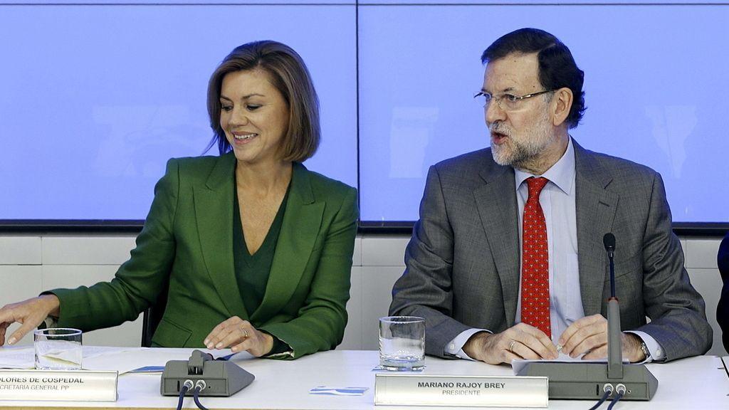 Mariano Rajoy y María Dolores de Cospedal