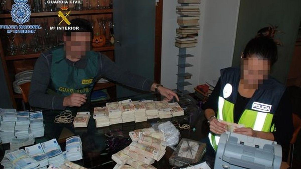 Macrooperación contra el narcotráfico