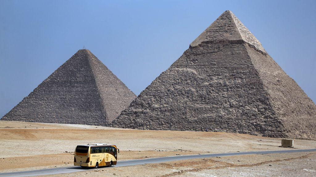 Los turistas se olvidan de Egipto
