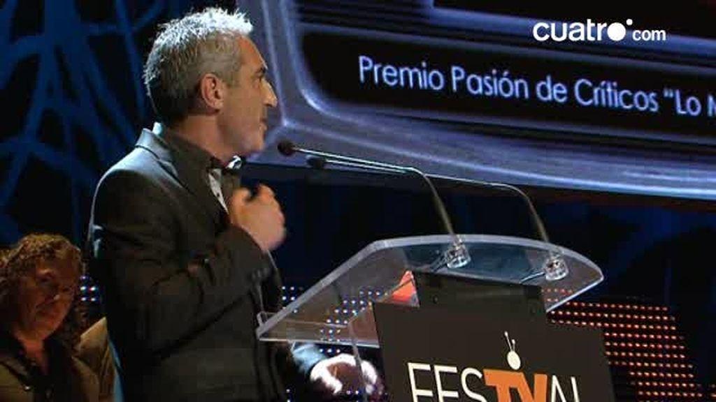 """Jon Sistiaga gana el premio """"Pasión de críticos"""" al espacio que mejor refleja la actualidad"""