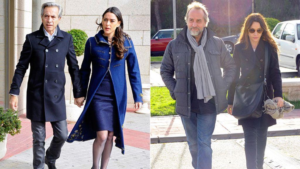 Imanol Arias acudió con su pareja, al igual que Natalia Verbeke