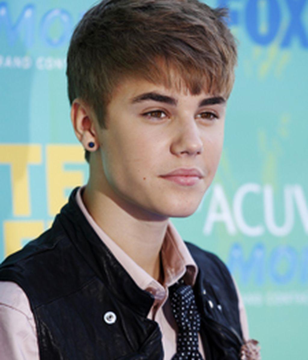 Justin Bieber en su última aparicion