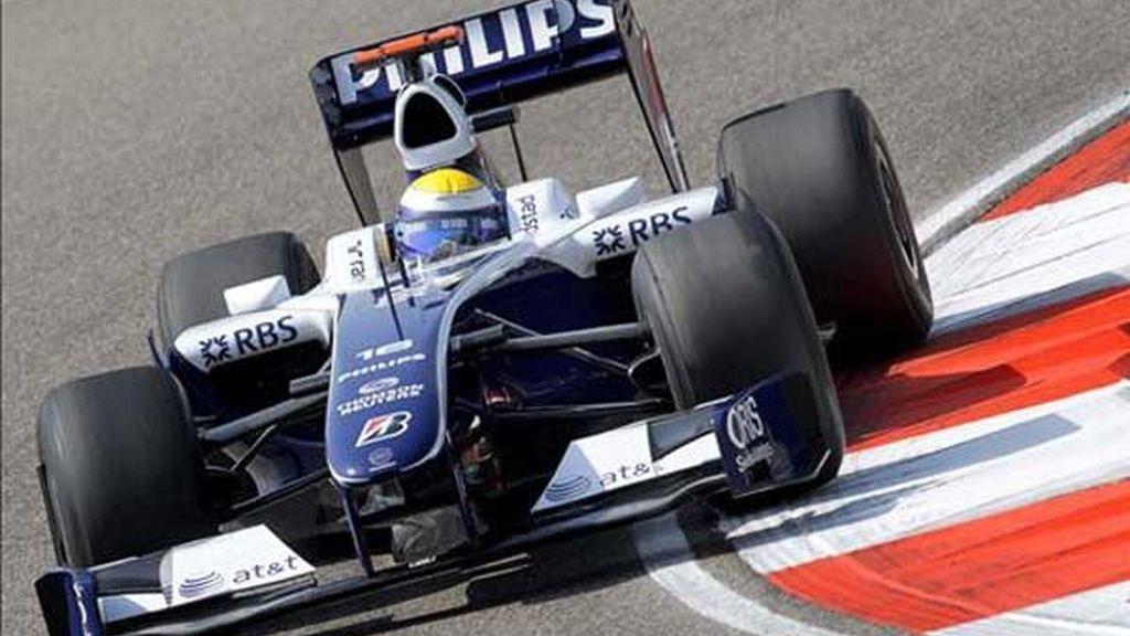 Rosberg, mejor tiempo
